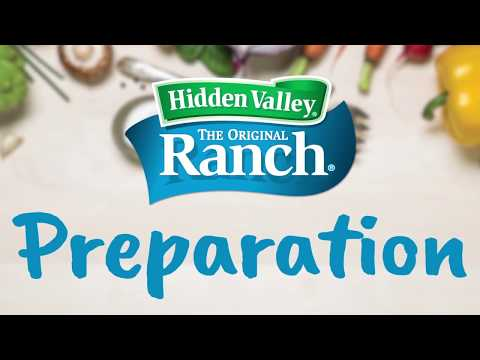 Using and Preparing Hidden Valley® Ranch Dry Mix