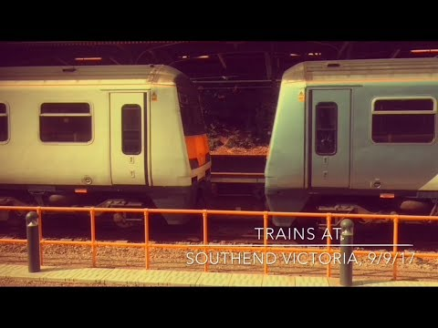 Trains at: Southend Victoria, CVL, 9/9/17
