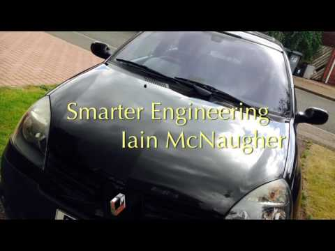 Renault Clio Mk2 windscreen washer motor replacement (the easy way)