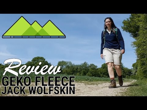 Lightweight Midlayer - Jack Wolfskin Gecko Fleece Review