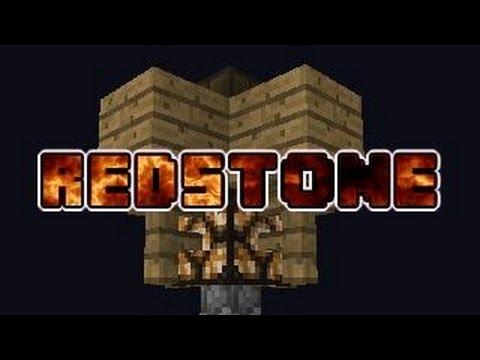 Minecraft: Easily Created Redstone Lamp Post (13w01b)