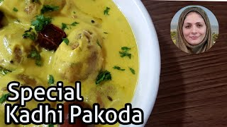Kadhi Pakoda Recipe ll Kadhi Pakora ll English Subtitles ll  by Cooking with Benazir