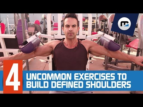 ➩ 4 Uncommon Exercises To Build Defined Shoulders  [BRAND NEW] ✔️