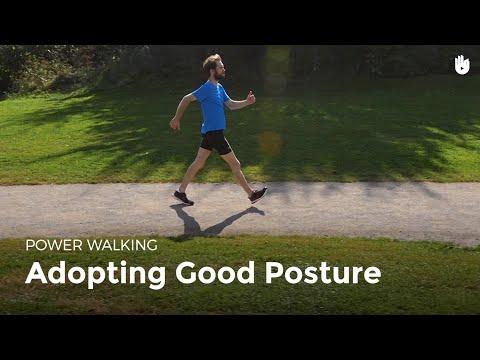 Adopting Good Posture   Power Walking