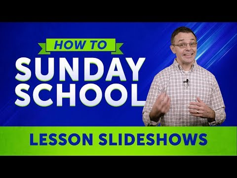 How To Sunday School: Sunday School Presentations For Your Kids Bible Lessons   Sharefaith.com