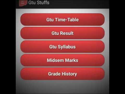 GTU Stuffs