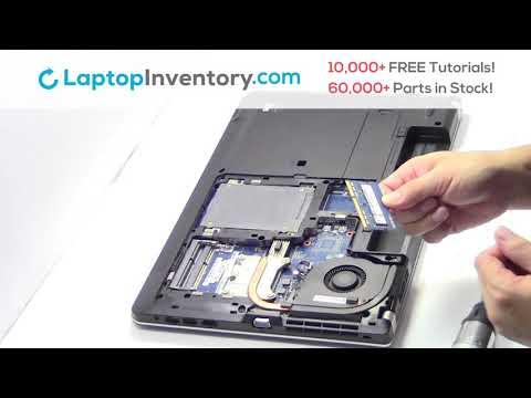 How to replace Laptop Memory Lenovo Thinkpad E531. Fix, Install, Repair E550 E560 20DH SN5323W