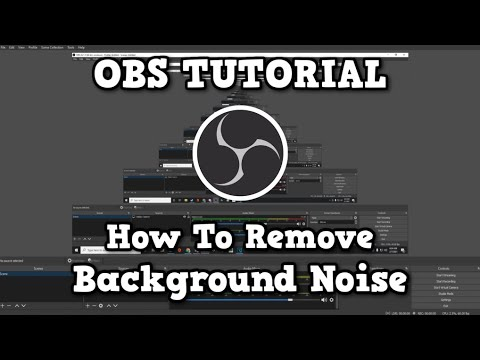 OBS: How to get rid of background microphone static!