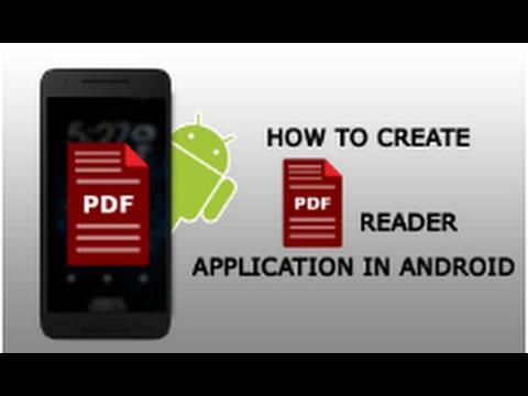 Android PDF Reader Application tutorial | ShoutCafe.com