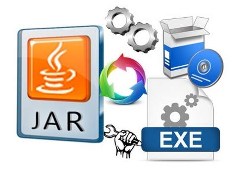 تحويل ملف jar الى .exe | الطريقة الأولي