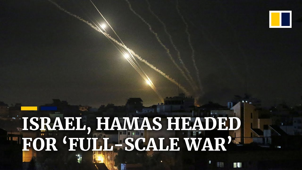 'Full-scale war' feared as fighting between Israel and Hamas escalates amid air strikes