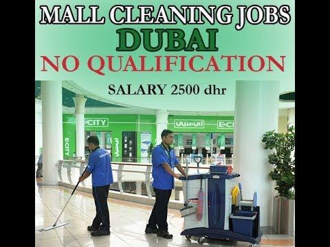 Cleaner Jobs in Dubai |50 Male & Female |Urgent Requirement | Dubai Latest Job 2018