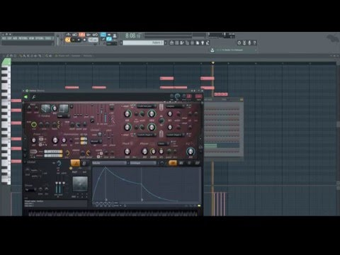 Making a Melodic Dubstep Drop In FL Studio 12 (Basic/Tutorial)