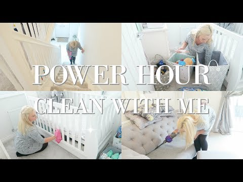 POWER HOUR CLEAN WITH ME | SPEED CLEANING MOTIVATION SAHM | MRS SMITH & CO.
