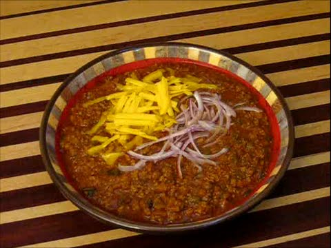 Real Texas Red Chili Recipe Short Version Revised S1 Ep166