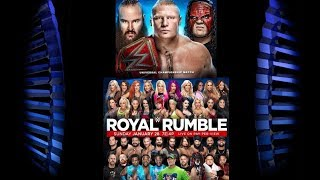 Official Royal Rumble poster with top SmackDown Superstar missing revealed