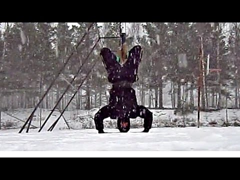Calisthenics Winter Workout Motivation