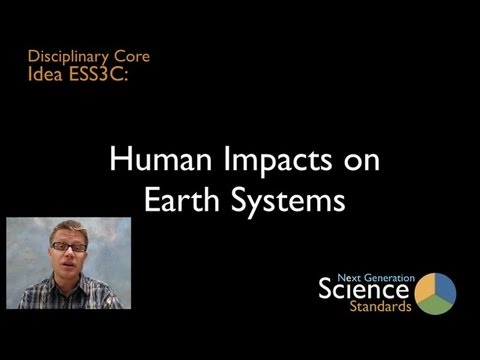 ESS3C - Human Impacts on Earth Systems