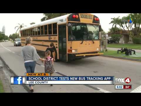Lee County Schools rolling out bus tracking app
