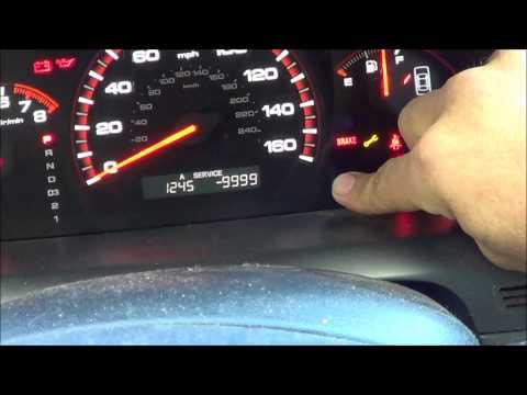 Honda Oil Maintenance Light Reset