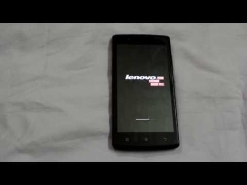 Lenovo A2010 Unlock Pattern