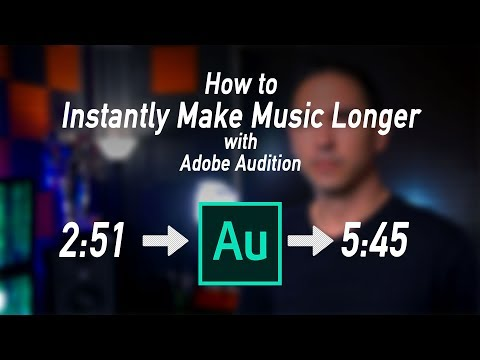 How to Make Music Longer INSTANTLY with Adobe Audition