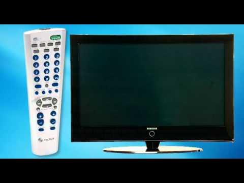 Video Tutorial que muestra la configuración del control remoto RM-7