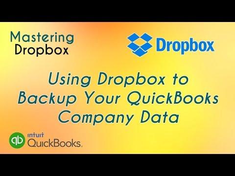 Using Dropbox to Backup Your QuickBooks Company Data