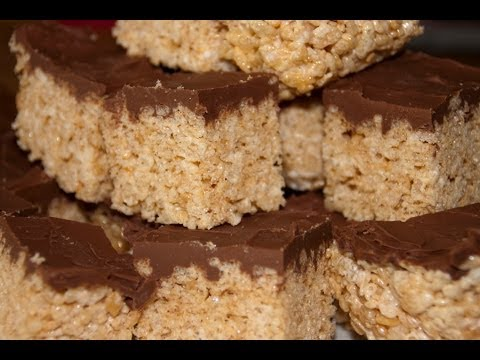 Chocolate Covered Delicious Rice Crispy Treats ( fast and esay to cook when busy)  - Enjoy Yummy