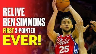 Ben Simmons First Career 3-Pointer From Every Angle