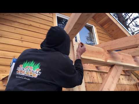 TIMBER FRAME JOINERY -- hip rafter DETAIL