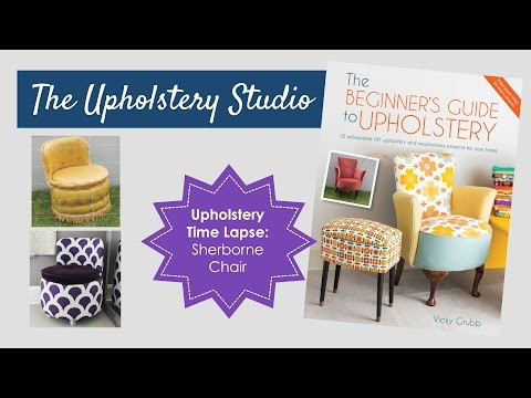 Upholstery Time Lapse - 1960's Sherborne Chair