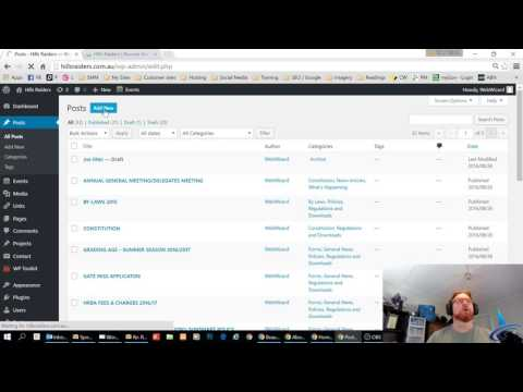 Wordpress How To - Insert PDF link