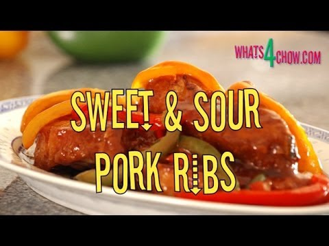 Sweet & Sour Pork Ribs. Crispy Pork Ribs with Sweet & Sour Sauce. Easy Sweet & Sour Ribs.