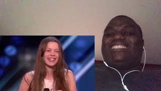 Reaction Video:Courtney Hadwin Golden buzzer performance on AGT