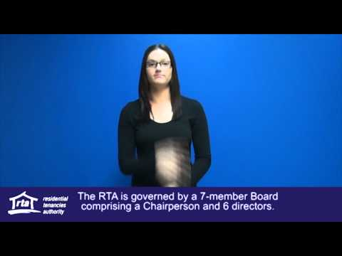 About the Residential Tenancies Authority - RTA