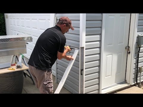 How To Replace A Vinyl Siding Corner