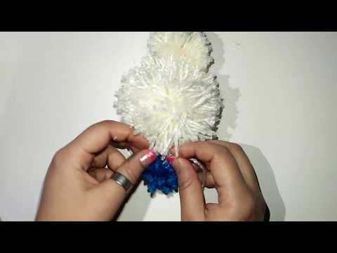 creative crafts: pom pom rabbits - stuffed bunnies DIY
