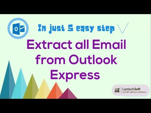 In Just 5 Easy Steps Extract all Emails from Outlook Express