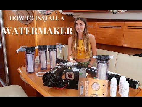 How To Install a Watermaker (Sailing La Vagabonde)