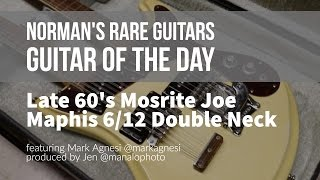 Norman's Rare Guitars - Guitar of the Day: Late 1960's Mosrite Joe Maphis 6/12 Double Neck