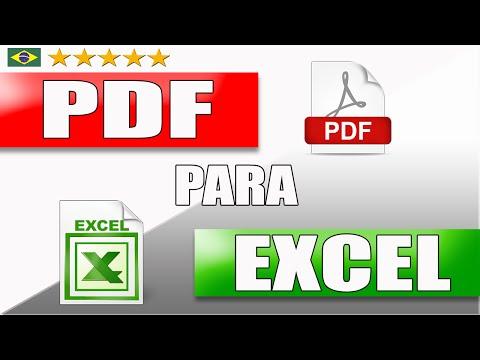 Como Converter PDF para EXCEL Online Gratis - MiTutoriais
