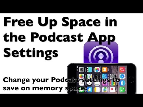 iPhone Full? How to Manage Memory Space on the iPhone Podcast App