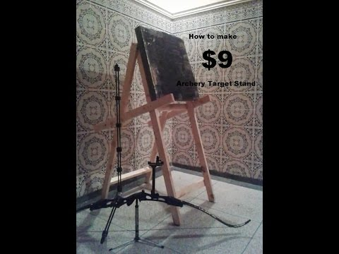 How to make a Target Stand for under $9