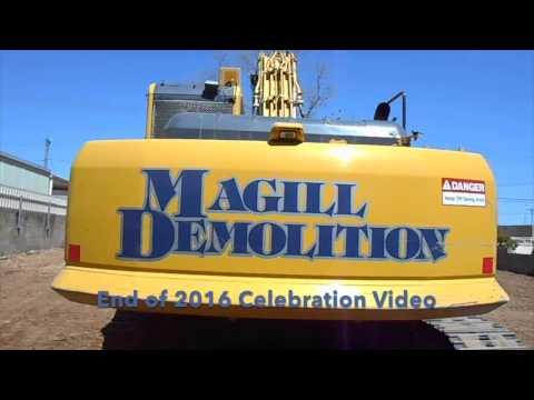 Magill Demolition - Bye Bye 2016 (Adelaide South Australia)