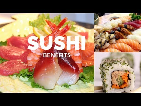 5 HEALTH Benefits of Eating Sushi 🍣