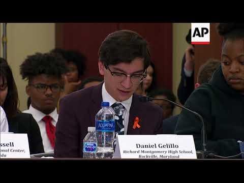 Students Talk Gun Violence on Capitol Hill