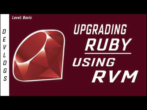 Upgrading Ruby with RVM (RS20170207)
