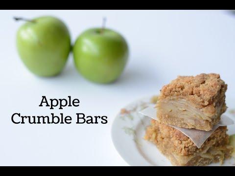 Apple Crumble Bar Recipe