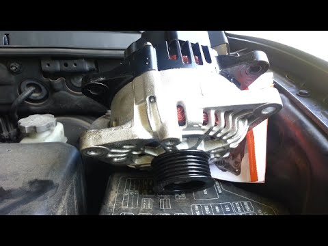 Alternator replacement - 2004 Hyundai Santa Fe 3.5L engine